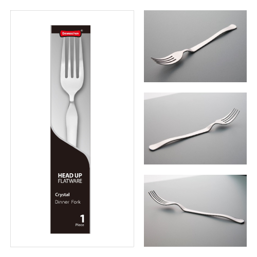 HEAD UP FLATWARE Crystal〔Dinner Fork〕1Piece