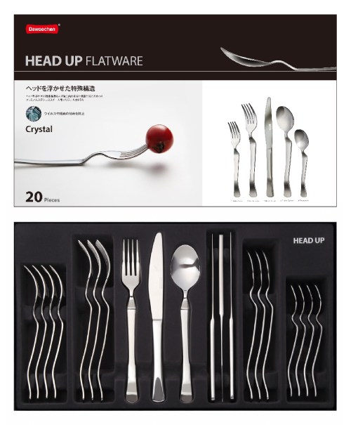 HEAD UP FLATWARE Crystal〔Dinner Set〕20Pieces